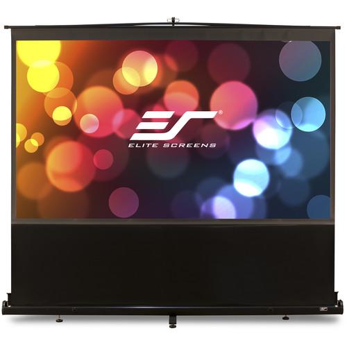 "Elite Screens F95NWX 95"" ezCinema Portable Pull-Up Screen (MaxWhite)"