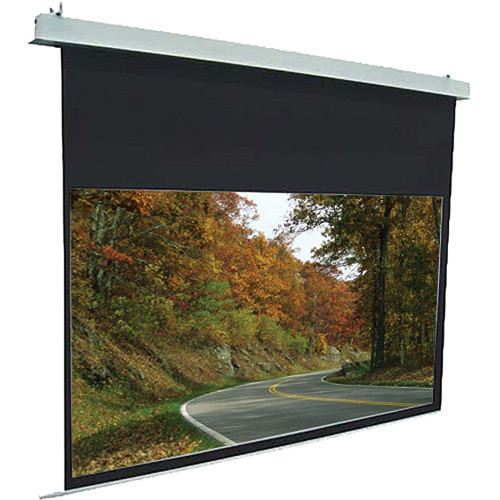 """Elite Screens Evanesce Plus Ceiling Mounted HDTV Motorized Projection Screen (73.6 x 130.7"""")"""