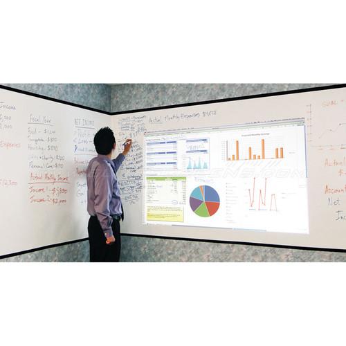 "Elite Screens Insta-DE2 Whiteboard Pliable Adhesive Wall Mount Projection Screen (51.2 x 480.0"")"