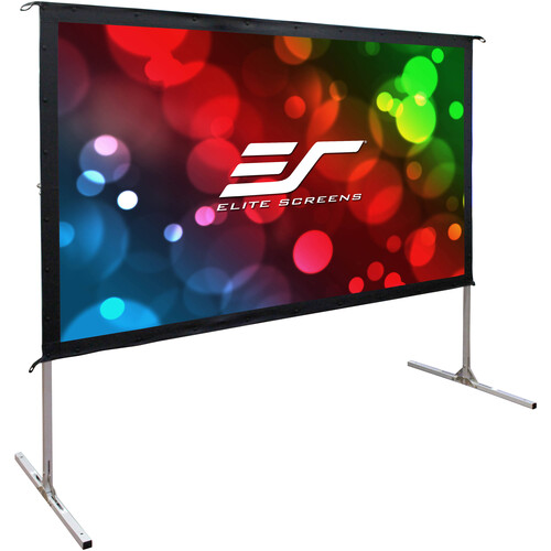 "Elite Screens Yard Master 2  100""/16:9 Foldaway Movie Home Theater Rear Projector Screen (WraithVeil Dual)"