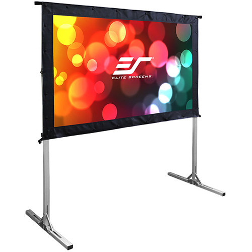 "Elite Screens Yard Master 2 120""/16:9 Foldaway Movie Home Theater Rear Projector Screen (WraithVeil 3)"