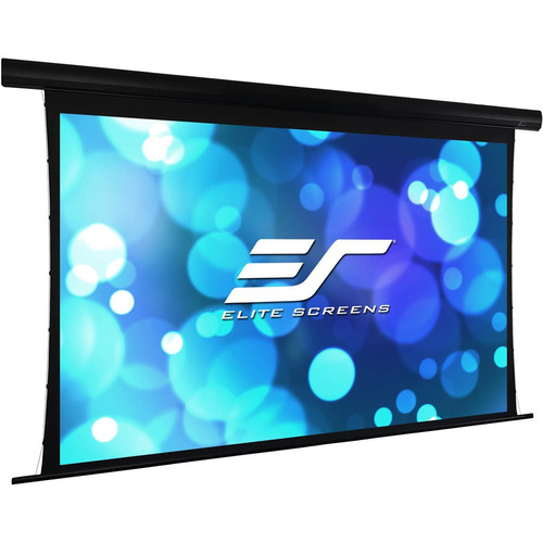 """Elite Screens Yard Master Tab-Tension 120""""/ 16:9  Outdoor Electric Motorized Front/Rear Projection Screen (Wraithv"""
