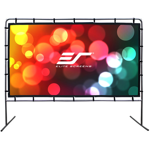 """Elite Screens OMS123HR 60.3 x 107.2"""" Yard Master Series 1 Rear Projection Outdoor Screen"""