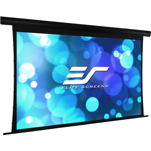 """Elite Screens Yard Master Tab-Tension 135""""/ 16:9  Outdoor Electric Motorized Front/Rear Projection Screen (Wraithv"""