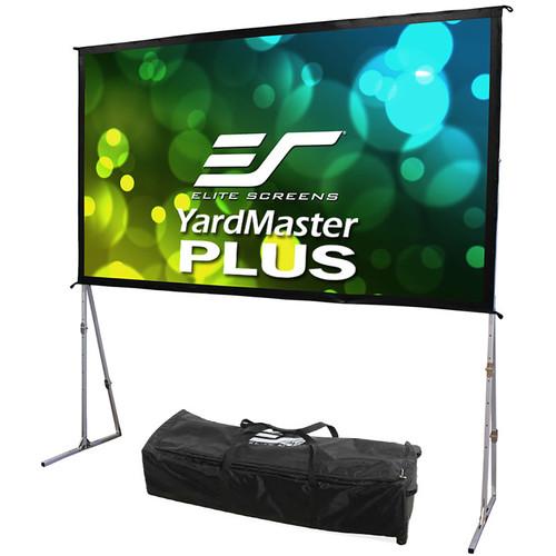 "Elite Screens Yard Master Plus 200""/16:9 Indoor/Outdoor Portable Foldaway Screen (Cine White)"