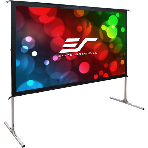 "Elite Screens Yard Master 2 55""/16:9 Portable Foldable Outdoor Rear Projection (WraithVeil)"