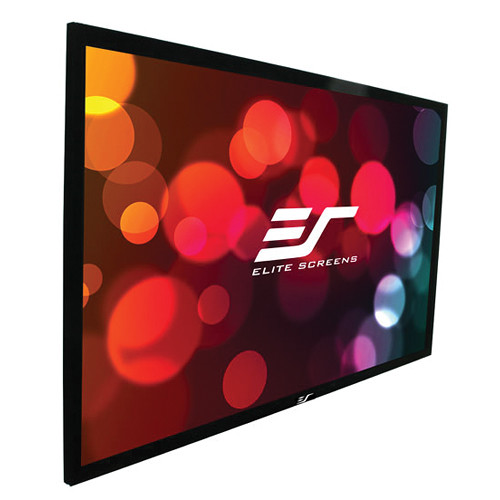 "Elite Screens R144WX2 ezFrame 2 90.6 x 145"" Fixed Frame Projection Screen"