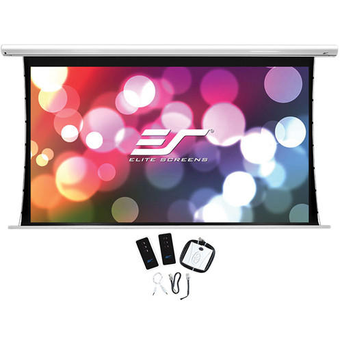 "Elite Screens Saker Tab-Tension 56.2 x 89.9"" 16:10 Screen with Low Voltage Control (5-12V)"