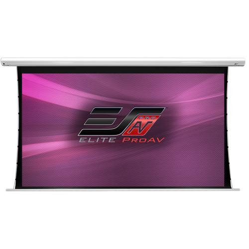 "Elite Screens SKT84XHW-E12 Saker Tab-Tension 41.2 x 73.2"" Motorized Projection Screen (120V)"