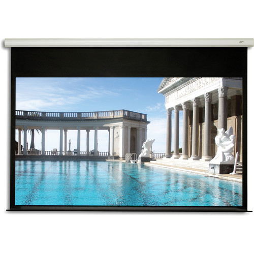 "Elite Screens Spectrum2 Motorized Projection Screen with 12"" Drop (44.6 x 79.4"")"