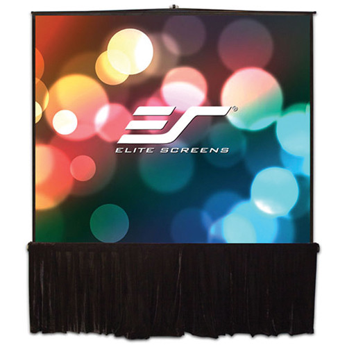 Elite Screens Tripod Stage Series, Large Venue Portable Projector Screen