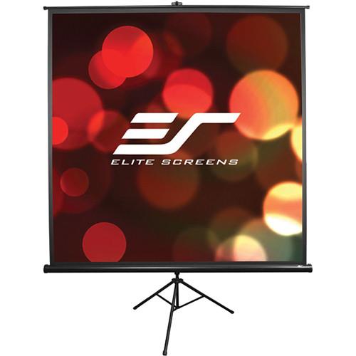 "Elite Screens T50UWS1 Portable Tripod Screen (35x35"")"