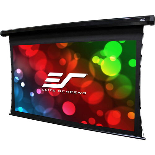 "Elite Screens Cinetension 2 Dual/ 150""/16:9 Front/Rear Projection/ Electric Drop Down Screen (Wraithveil Dual)"