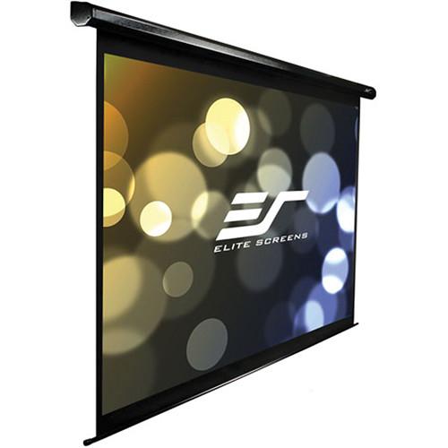 "Elite Screens VMAX2 Series VMAX142UWX2-E24 142"" Electric/Motorized Front Projection Screen (Black)"