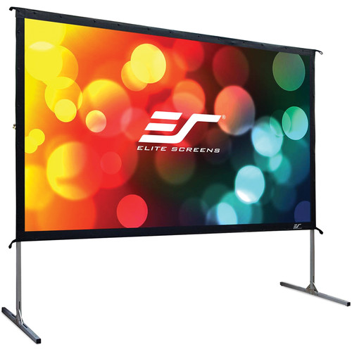 """Elite Screens Yard Master 2 Front Projection Screen (49.0 x 87.1"""")"""