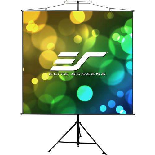 "Elite Screens Portable/ Yard Master Sport 57""/1:1 - MaxWhite/ Black Case/ With Bag"