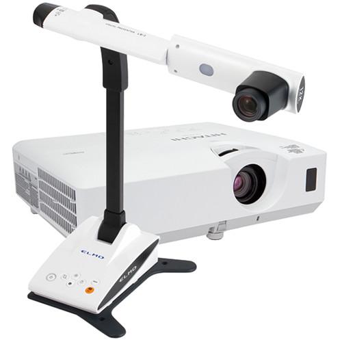 Elmo LX-1 Visual Presenter with CP-EW302N Projector