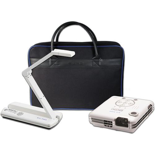 Elmo POG Bundle: MO-1 White / BOXi MP-350 Projector / & Soft Case