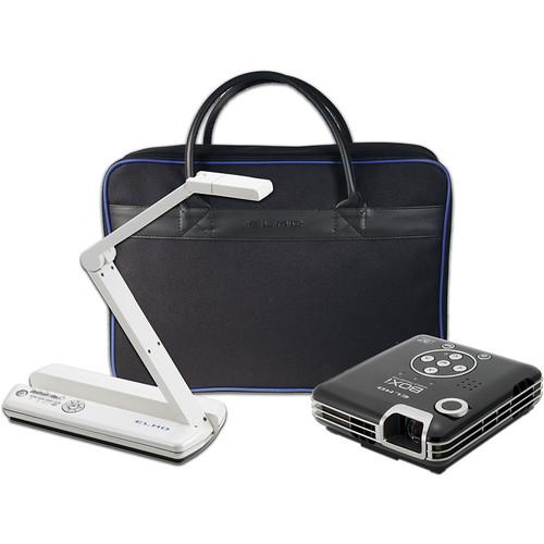 Elmo POG Bundle: MO-1 White / BOXi T-350 Projector / & Soft Case
