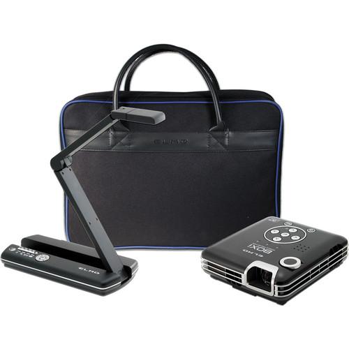Elmo POG Bundle: MO-1 Black / BOXi T-350 Projector / & Soft Case