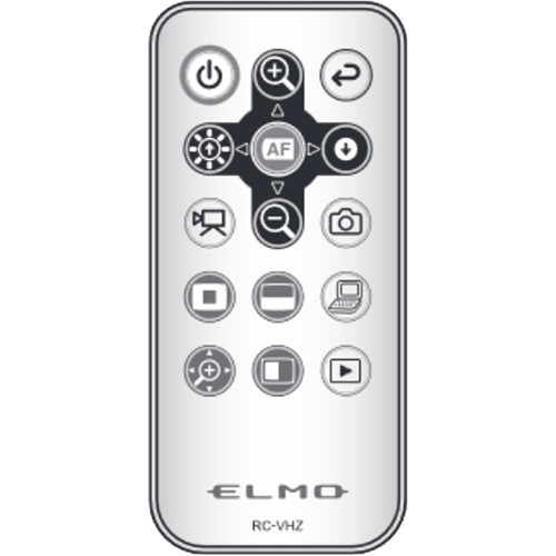 Elmo RC-VHZ IR Replacement Remote Control for TT-12iD Document Camera