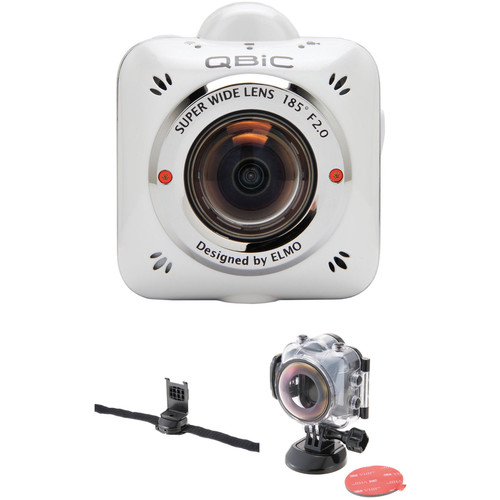 Elmo QBiC MS-1 Wide Angle Wearable Camera Kit with Armor Case and Belt Mount