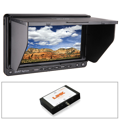 "Elvid RigVision 7"" Monitor and SDI to HDMI 60Hz Converter Kit"