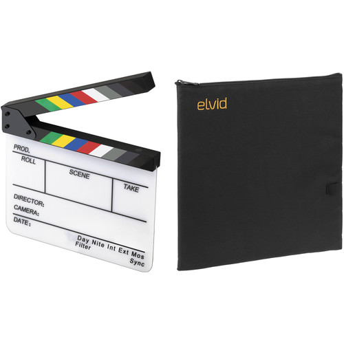 Elvid 7-Section Acrylic Production Slate with Soft Case Kit