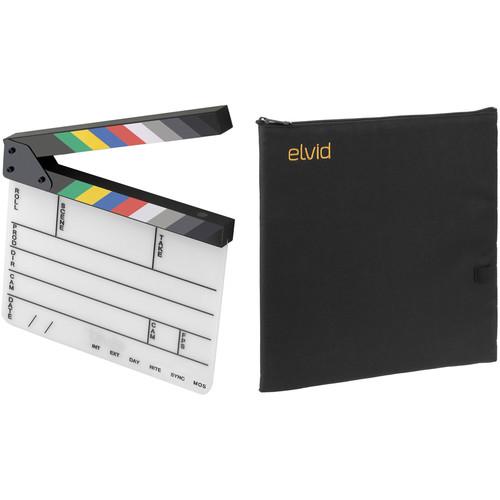 Elvid 9-Section Acrylic Dry Erase Production Slate with Soft Case Kit