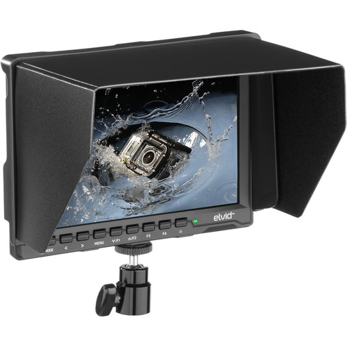 "Elvid FieldVision 7"" 4K On-Camera HDMI IPS Monitor"