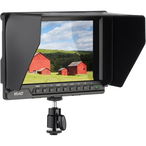 "Elvid FieldVision 4KV2 7"" On-Camera Monitor"