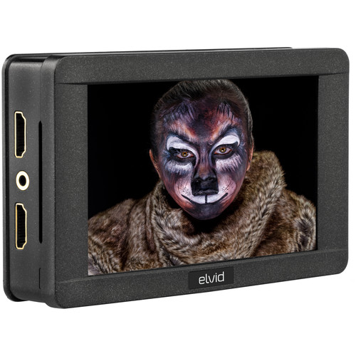 """Elvid 5"""" RigVision HDR On-Camera Touchscreen Monitor"""