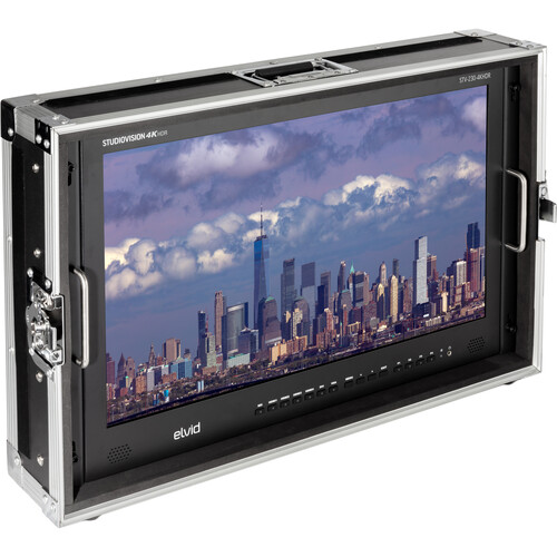 "Elvid StudioVision 4K HDMI Monitor with HDR (23.8"")"