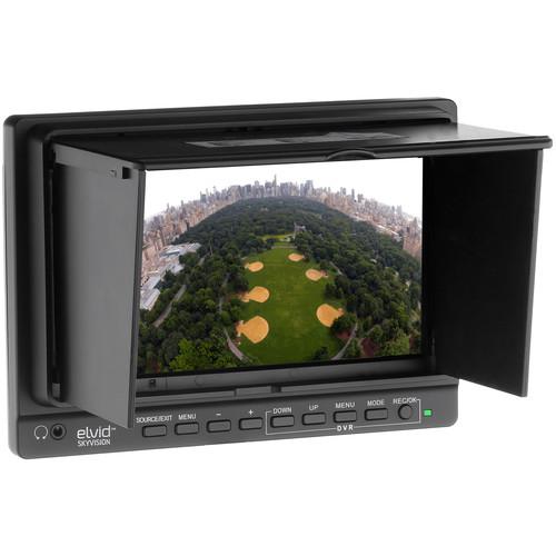 "Elvid SkyVision 7"" On-Camera & Aerial Imaging LCD Monitor"