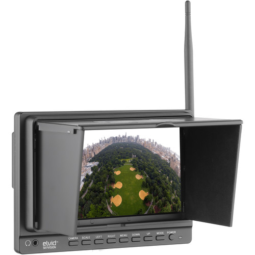 "Elvid SkyVision WCM-758G 7"" Wireless LCD Monitor"