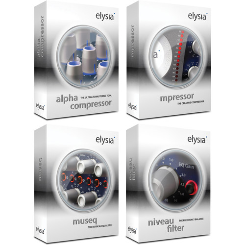 elysia 100% elysia bundle V1 - Dynamics and EQ Plug-In Bundle for Native Systems (Download)
