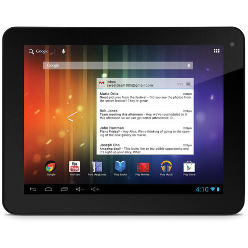 "Ematic 8GB Pro Series 8"" Multi-Touch Wi-Fi Tablet (Black)"