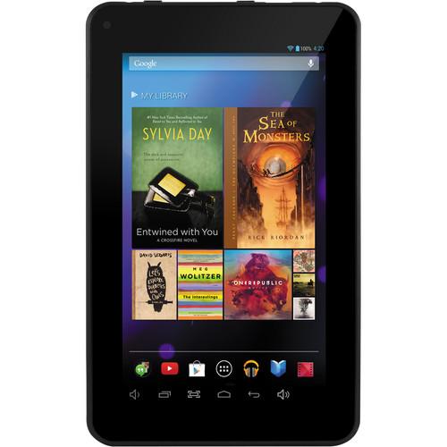 "Ematic 8GB EGQ307 7"" HD Quad-Core Multi-Touch Tablet (Black)"