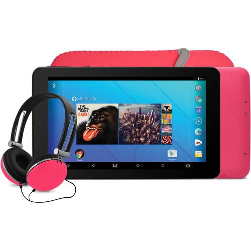 "Ematic 7"" EGQ367BD Tablet (Pink)"