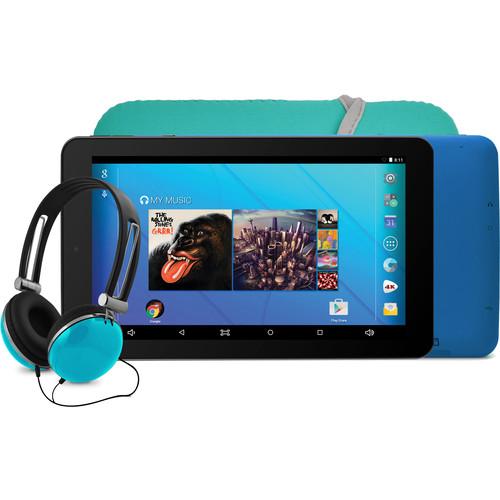 """Ematic 7"""" EGQ367BD Tablet (Teal)"""