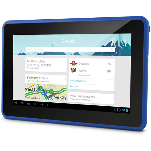 "Ematic 4GB Genesis Prime 7"" Multi-Touch Tablet (Blue)"