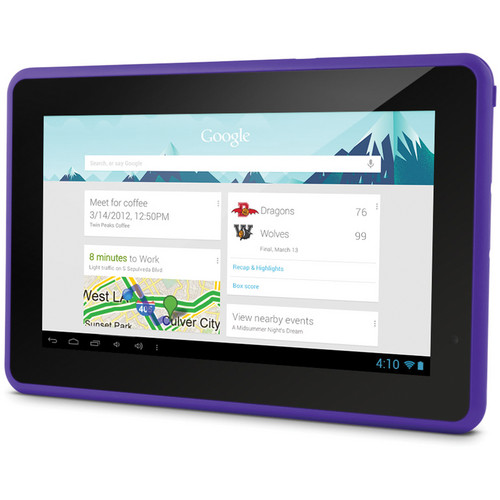"Ematic 4GB Genesis Prime 7"" Multi-Touch Tablet (Purple)"