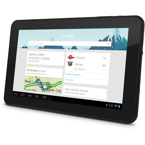 "Ematic 4GB EGS109 9"" EDAN XL Multi-Touch Tablet with Android 4.1 Jelly Bean"