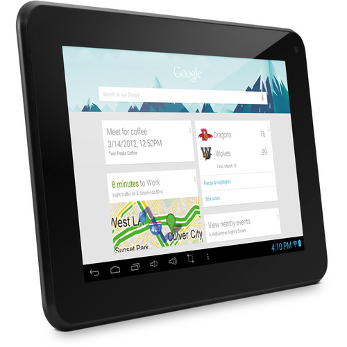 "Ematic 4GB EM63 7"" HD Dual-Core Multi-Touch Tablet with Android 4.1 Jelly Bean (Black)"