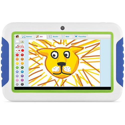 "Ematic 4GB FunTab 2 Multi-Touch 7"" Tablet for Kids (Blue & Green)"