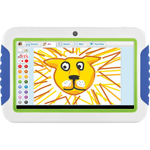 "Ematic 4GB FunTab 7"" Tablet for Kids (Blue & Green)"