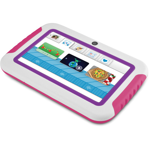 """Ematic 4GB FunTab Mini 2 Multi-Touch 4.3"""" Tablet for Kids (Pink & Purple)"""
