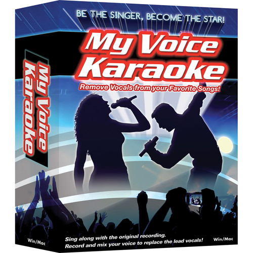 IPE Music My Voice Karaoke - Vocal Removal Software for Mac (Download)