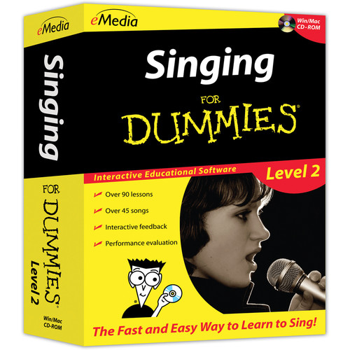 eMedia Music Singing for Dummies Level 2 (Electronic Download, Mac)