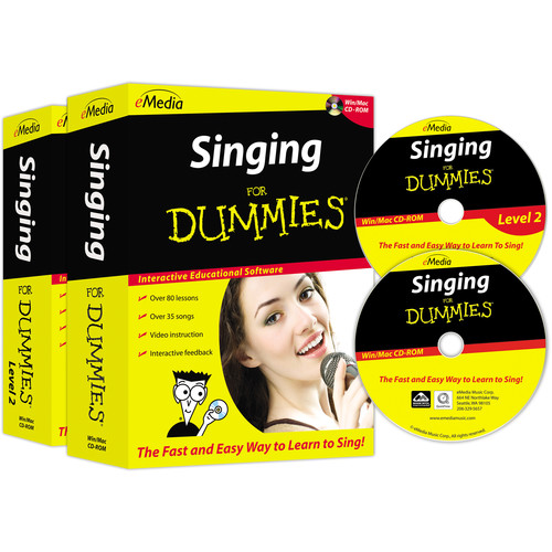 eMedia Music Singing For Dummies Deluxe (Electronic Download, Mac)